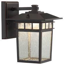 raiden 1 light outdoor wall light dark bronze craftsman outdoor wall