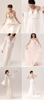 Bhldn 2018 Spring Wedding Dresses And Accessories For Modern