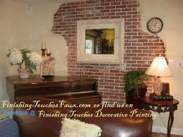 suzanne s brick wall traditional living room