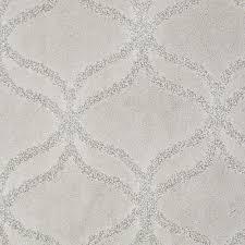Platinum Plus Carpet Sample Kensington In Color Rain Drop 8 in