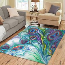new design mat custom peacock feather area rug decorative floor carpet peacock rug e3 peacock