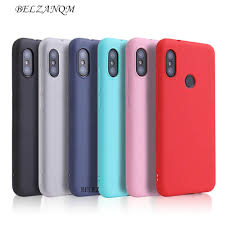 Online Shop <b>Candy Color Case for</b> Xiaomi Redmi Note 6 Pro 6A S2 ...
