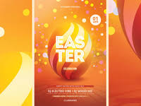 Easter Flyer Designs On Dribbble