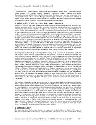 business structure of indigenous firms in the ian construction i kopek construction 3
