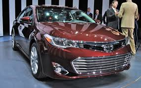 new car release dates 2013when will 2015 toyota avalon be available  Toyota Avalon