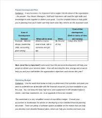 Non Profit Organization Template Budget Proposal For Non Profit Non