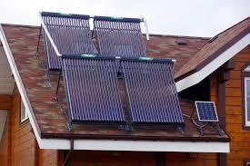 Горячая вода от солнечных батарей цена