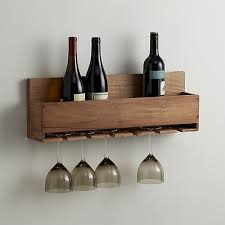 wall mounted wine glass rack classic kitchen area with light for within wall mounted wine glass holder renovation