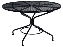 black wrought iron patio furniture decorating extraordinary black wrought iron table circular outdoor seating small round