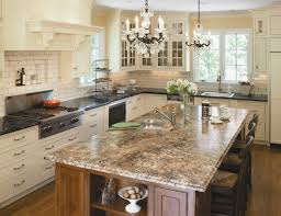 classic l shaped kitchen with beaded inset cabinets stainless steel appliances a drop in formica