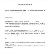 Our joint venture contract includes the provisions necessary to help you form a successful venture. Joint Venture Agreement Template 13 Free Word Pdf Document Download Free Premium Templates