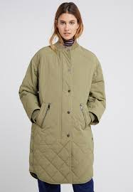 ofabe classic coat bright green