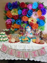 Mexican Themed Kitchen Decor Mexican Themed Baby Shower