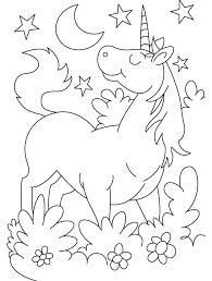Unicorn Coloring Page Coloring Pages Beautiful Cases For Girls
