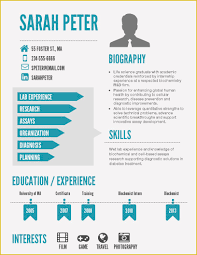55 Infographic Resume Template Word Free Download