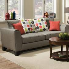 Albany 356 Collection Contemporary Sofa with Track Arms A1