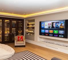 Image Unfinished Basement Molding Led Ceiling Basement Lighting Ideas Next Luxury Top 60 Best Basement Lighting Ideas Illuminated Interior Designs