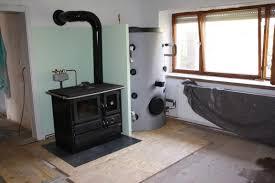 Holzheizung Mit Wasserführendem Küchenherd Selber Bauen
