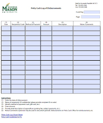 Open Office Petty Cash Log Template 2 Printable Samples