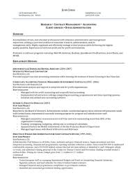 Sample Administrative Management Resume Manager Resume 1