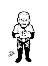 Rey Mysterio Coloring Sheets Queenandfatchefcom