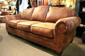 nailhead leather sofa rustic leather sofa western brown couch in trim with cream nailhead leather recliner
