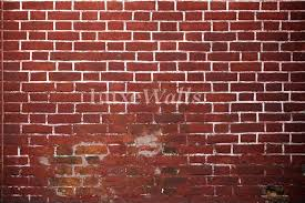 old red brick wallpaper