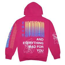 Erys Tour Hoodie Pink Style In 2019 Hoodies Black