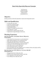 Resume Specialist Fascinating Data Entry Resume Specialist Data Entry Resume References Secrets