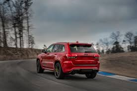 2018 jeep yellow. brilliant jeep 2018 jeep grand cherokee trackhawk exterior rear three quarter 04 view  photo gallery  49 photos inside jeep yellow i