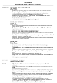 Hospitalist Resume Samples Velvet Jobs