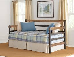Bismark Metal and Wood Daybed Shop Brians Furniture