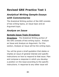 gre issue essay topics co gre issue essay topics