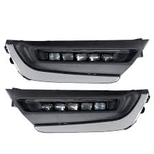 Drl Light Honda Crv Led Drl Daytime Running Lights White Pair For Honda Cr V Crv 2017 2018