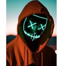 <b>Halloween Mask LED Light Up</b> Party Masks The Purge Election ...