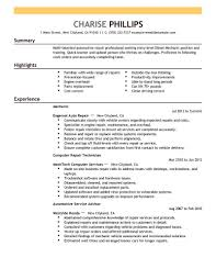 Entry Level Resume Examples Resume Templates