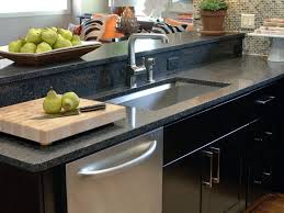 Kitchen Sinks With Granite Countertops Choosing The Right Kitchen Sink And Faucet Hgtv