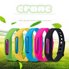 Цветной <b>браслет от</b> комаров, летний, экологичный, силиконовый ...