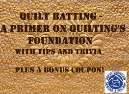 Quilt Batting - A Primer on Quilting's Foundation - Rocky Mountain ... & Quilt batting, quilting trivia, rocky mountain sewing Adamdwight.com