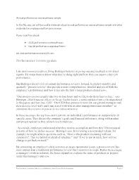 Free Self Evaluation Examples Performance Template Questions