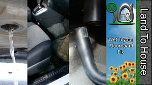 Wet Toyota Floorboard FIX -Matrix-Vibe-Corolla-Camry - YouTube