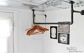 Plumbing Pipe Coat Rack Custom Farmhouse Friday Laundry Room Laundry Rooms Pinterest Pipe