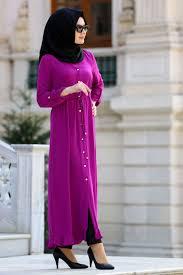 Neva Style Plum Color Hijab Tunic 21040mu Neva Style Com