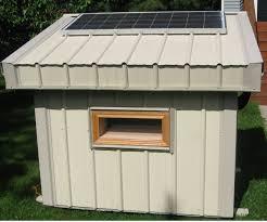 solar power dog houses
