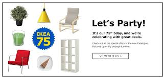 ikea furniture catalog online. Delighful Furniture Letu0027s Party Itu0027s Our 75th Bday And Weu0027re Celebrating With Great Deals  The 2019 IKEA Catalogue Is Here And Ikea Furniture Catalog Online L