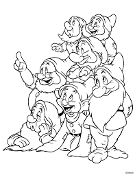It was released in 1937. Kids Under 7 Snow White And The Seven Dwarfs Coloring Pages Snow White Coloring Pages Disney Coloring Pages Disney Colors