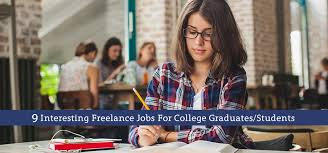 interesting lance jobs for college graduates students
