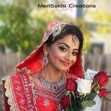 merisakhi creations indian bridal makeup and mehndi specialist in tracy bay area