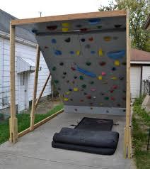 home rock climbing wall
