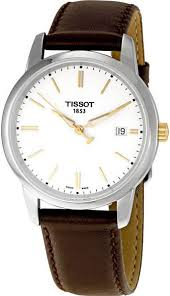 top 10 tissot watches for men tissot t classic dream white dial watch